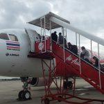 タイ旅行 バンコク スワンナプーム空港からチェンマイ空港