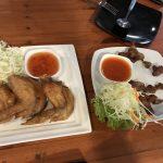 熱帯植物 猫と飯とバッタ Thailand